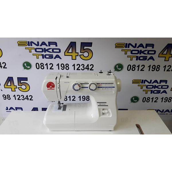 JANOME Mesin Jahit Janome 808A Portable Sinar Toko Tiga Jakarta Kota Asemka Glodok Kota