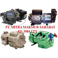 Semi Hermetic compressor air conditioning Carrier