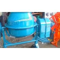 Mesin Pengaduk Beton & Semen Molen 125 Liter Dan  Elektro Motor