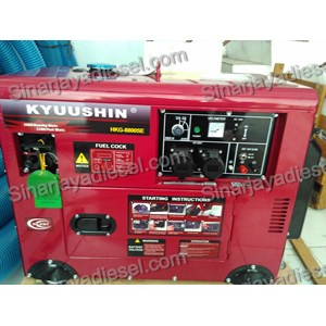 Genset Silent Honda Kyuushin HKG 8800SE
