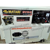 Genset Silent  Matari MPG 7500 SE  1
