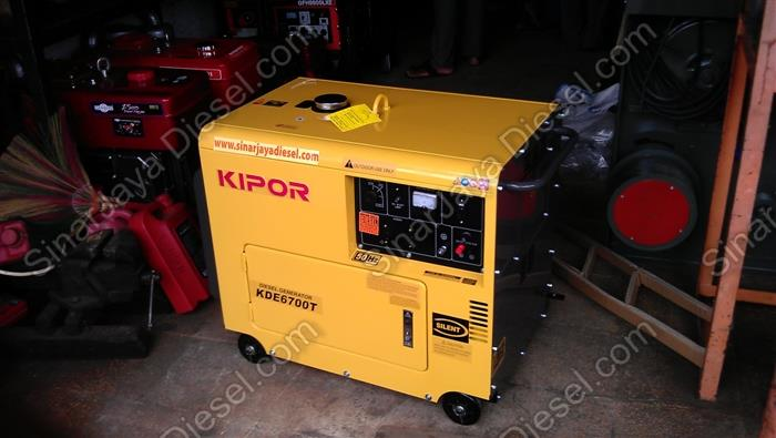 Sell Genset Silent Kipor Kde 6700 T From Indonesia By Cv