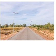 Lampu Jalan PJU Tenaga Surya 2 in 1