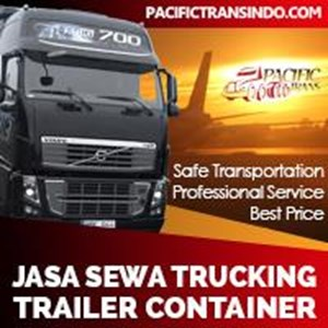 Sewa Trucking Trailer Container By CV. Pacific Trans