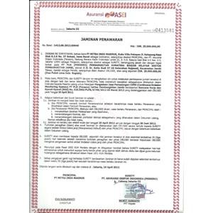 Jasa Surety Bond ~ Jaminan Penawaran By CV. Suretyindo Tri Star