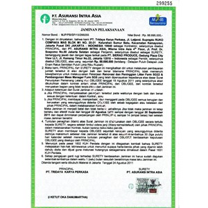 Jasa Surety Bond ~ Jaminan Pelaksanaan By Suretyindo Tri Star