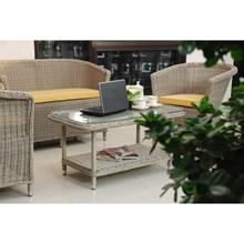 AMELIA LIVING-Antique Living Room Furniture Rattan 2 Seater