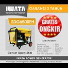 Genset Diesel IWATA 5Kva Open 1