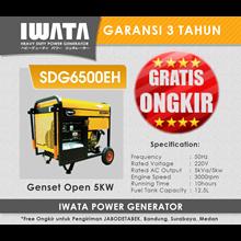 Genset Diesel IWATA 5Kva Open