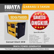 Genset Diesel IWATA 5Kva Silent