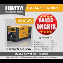 Genset Diesel IWATA 10Kva Silent