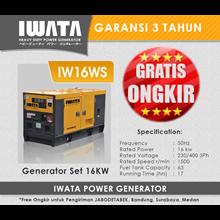 Genset Diesel IWATA 16Kva Silent