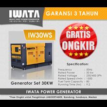 Genset Diesel IWATA 30Kva Silent