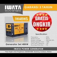 Genset Diesel IWATA 48Kva Silent