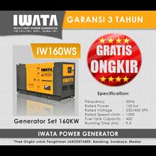 Genset Diesel IWATA 160Kva Silent