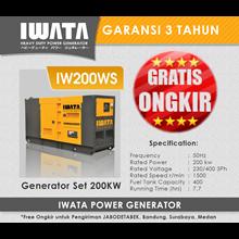 Genset Diesel IWATA 200Kva Silent