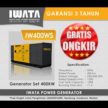Genset Diesel IWATA 400Kva Silent