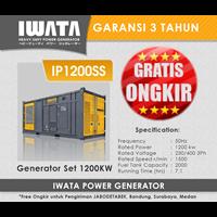 Jual Genset Diesel IWATA 1000Kva Silent