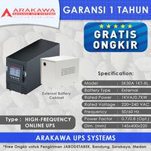 UPS ARAKAWA ON-LINE SK30A 1KVA-XL