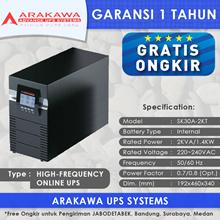 UPS ARAKAWA ON-LINE SK30A 2KVA