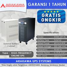 UPS ARAKAWA ON-LINE SK30A 6KVA-XL