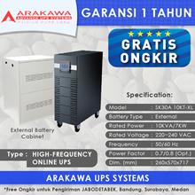 UPS ARAKAWA ON-LINE SK30A 10KVA-XL