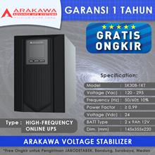 UPS ARAKAWA ON-LINE SK30B 1KVA