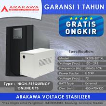UPS ARAKAWA ON-LINE SK30B 2KVA-XL
