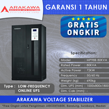 ARAKAWA on-line UPS MP98B 80KVA