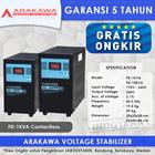 STABILIZER ARAKAWA FD 1 PHASE FD-15KVA CONTACTLESS 1