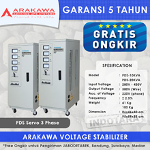 STABILIZER ARAKAWA PDS 3 PHASE PDS-15KVA