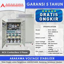 STABILIZER ARAKAWA NCX 3 PHASE NCX-225KVA