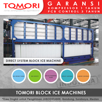 Jual Mesin Pembuat Es Krim Balok TOMORI INDUSTRIAL BLOCK ICE MACHINE TMB-10B