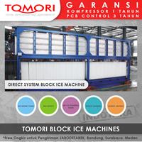 Mesin Pembuat Es Krim Balok TOMORI INDUSTRIAL BLOCK ICE MACHINE TMB-10B