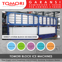Mesin Pembuat Es Krim Balok TOMORI INDUSTRIAL BLOCK ICE MACHINE TMB-10B