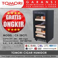 Kulkas dan Freezer Penyimpanan Cerutu Tomori CX28CF1