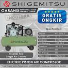 Kompresor Angin Listrik Two Stage Shigemitsu W-1.1-12.5 Tank 500L 1