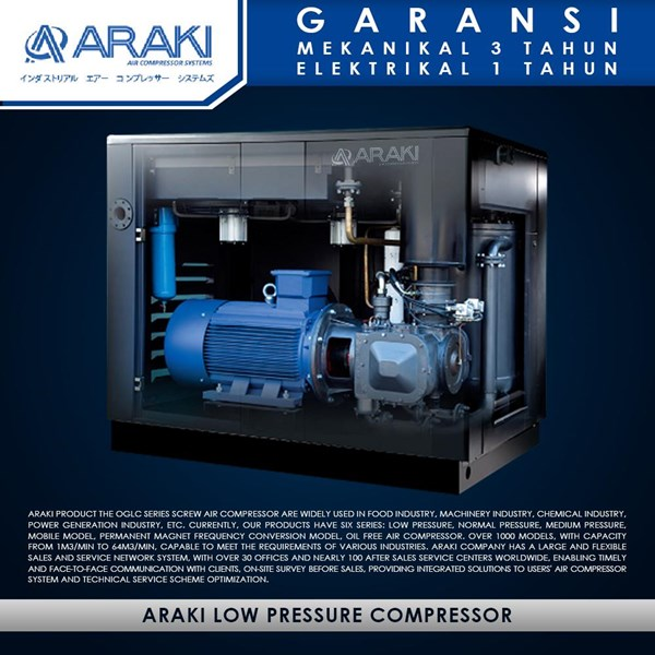 The Low Pressure Compressor Wind Araki For The Industry GTR55A-L