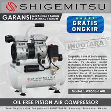 Kompresor Angin Oil Free Shigemitsu WB550-1A8L Tank 8L