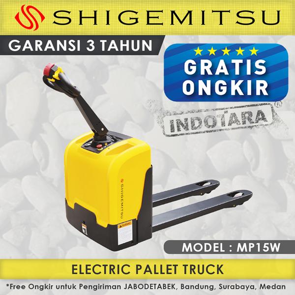 Hand Pallet Electric Truck Shigemitsu MP15W