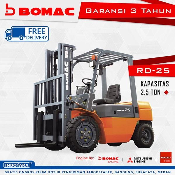 Forklift Bomac RD-25 Kapasitas 2.5 Ton