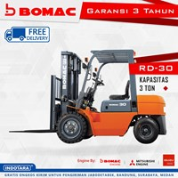Forklift Bomac RD-30 Kapasitas 3 Ton