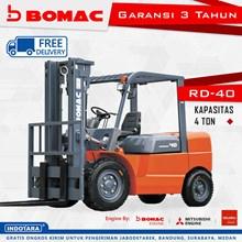 Forklift Bomac RD-40 Kapasitas 4 Ton