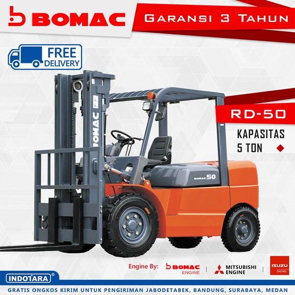 Forklift Bomac RD-50 Kapasitas 5 Ton