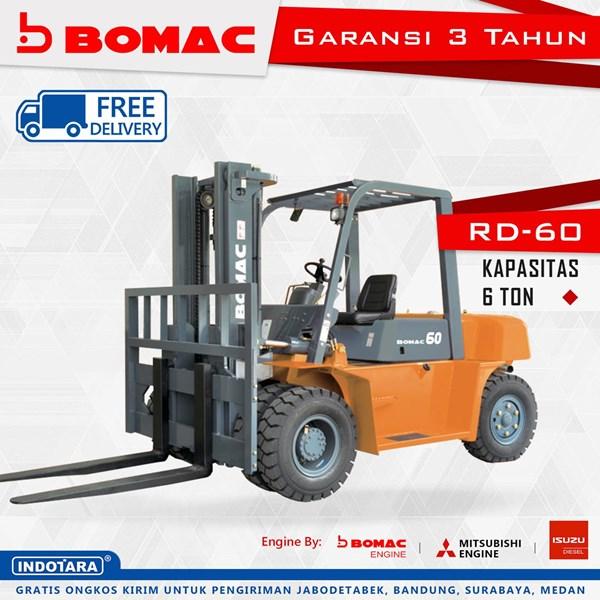 Forklift Bomac RD-60 Kapasitas 6 Ton