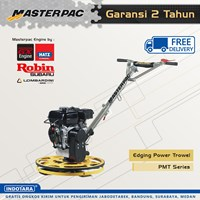 Mesin Pemadat Tanah beton Edging Power Trowel