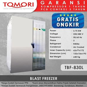 Tomori Blast Freezer TBF-830L