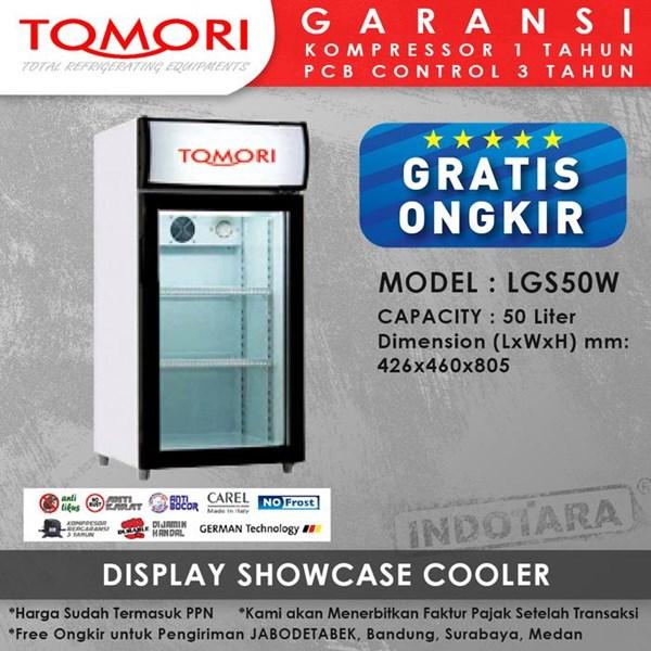 Lemari Pendingin Showcase Cooler LGS50W 50 LITER