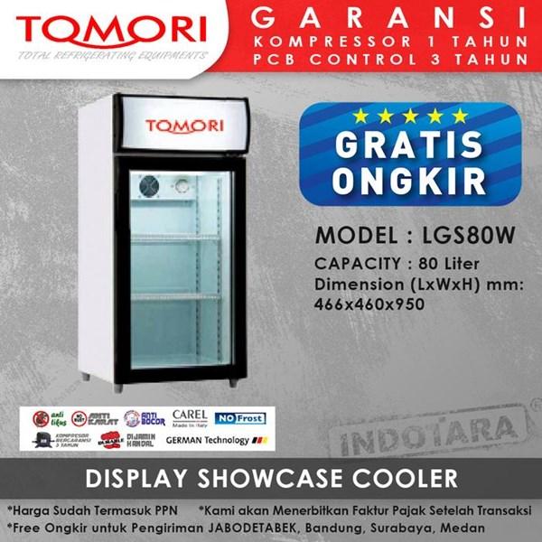 Lemari Pendingin Showcase Cooler LGS80W 80 LITER