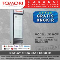 Lemari Pendingin Showcase Cooler LGS180W 180 LITER 1